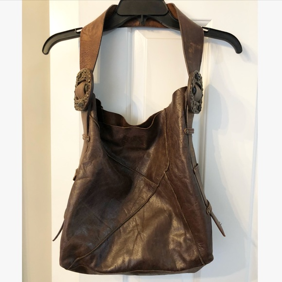 2c7e0639260d Free People Handbags - Steve Madden studded boho bag